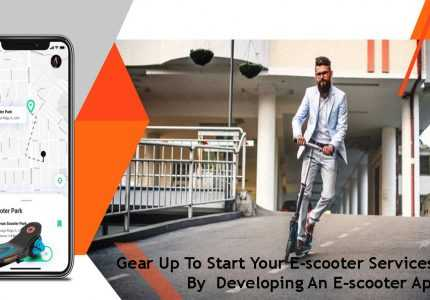Uber For E-scooters App