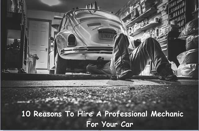 professional mechanic for your car