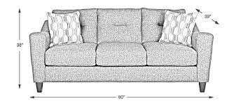 Sofa Couch Dimensions
